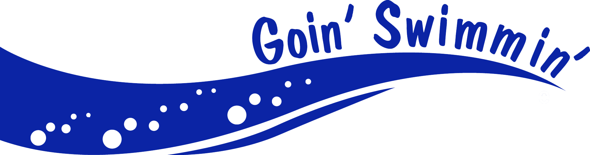 Colored Goin Swimmin logo